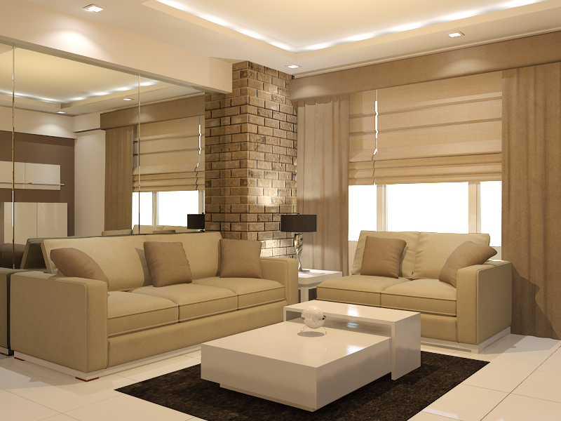 Interior design cebu best condominium for Living room interior design philippines
