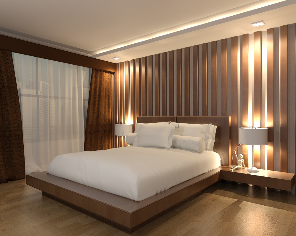 Interior design cebu best condominium for Sample bedroom designs