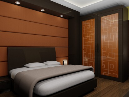 masters bedroom interior