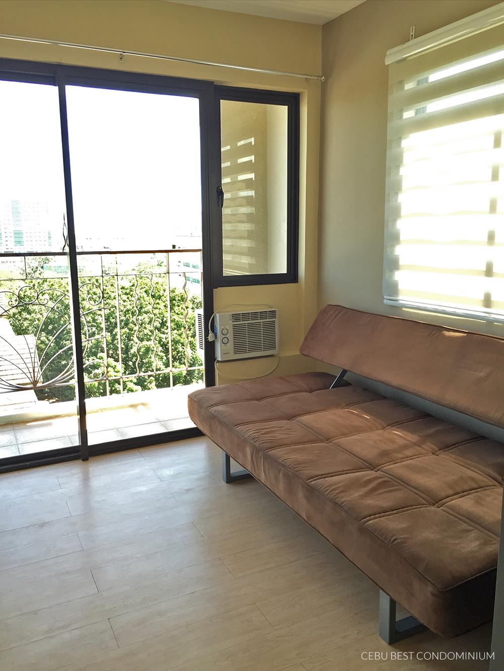 One Oasis 2 Bedroom Unit – livingroom