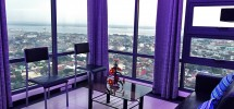 1 Bedroom Ramos Tower Unit Living room