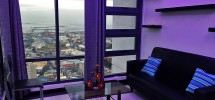 1 Bedroom Ramos Tower Unit living area