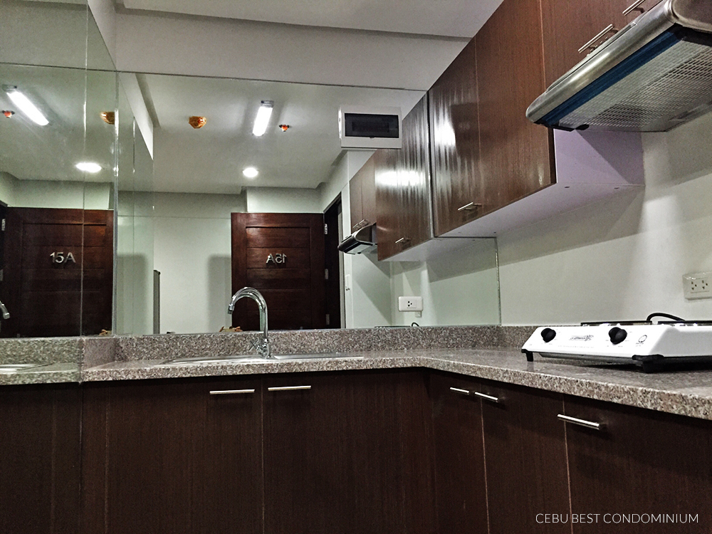 1 Bedroom Baseline Residence Kitchen